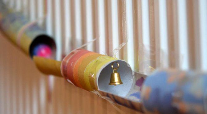 Murmelbahnen aus Papier